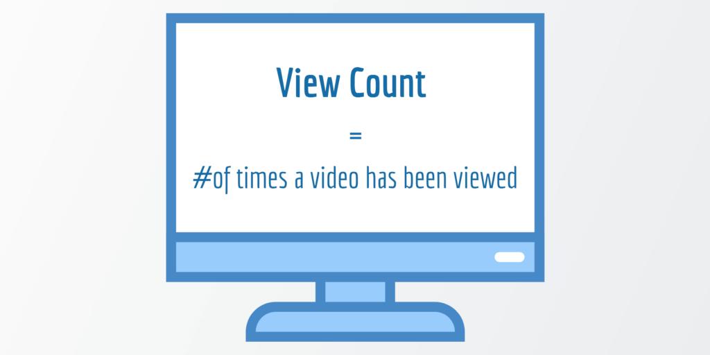 View Count - Video Success Metrics