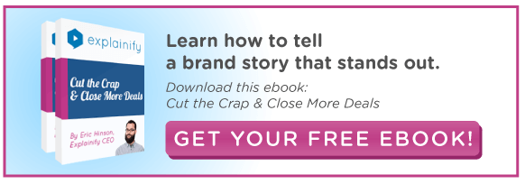 Learn how to tell a brand story that stands out, click to get our free e-book